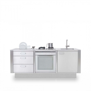Cucine in Acciaio LOW WINDOW B1 1080x1080