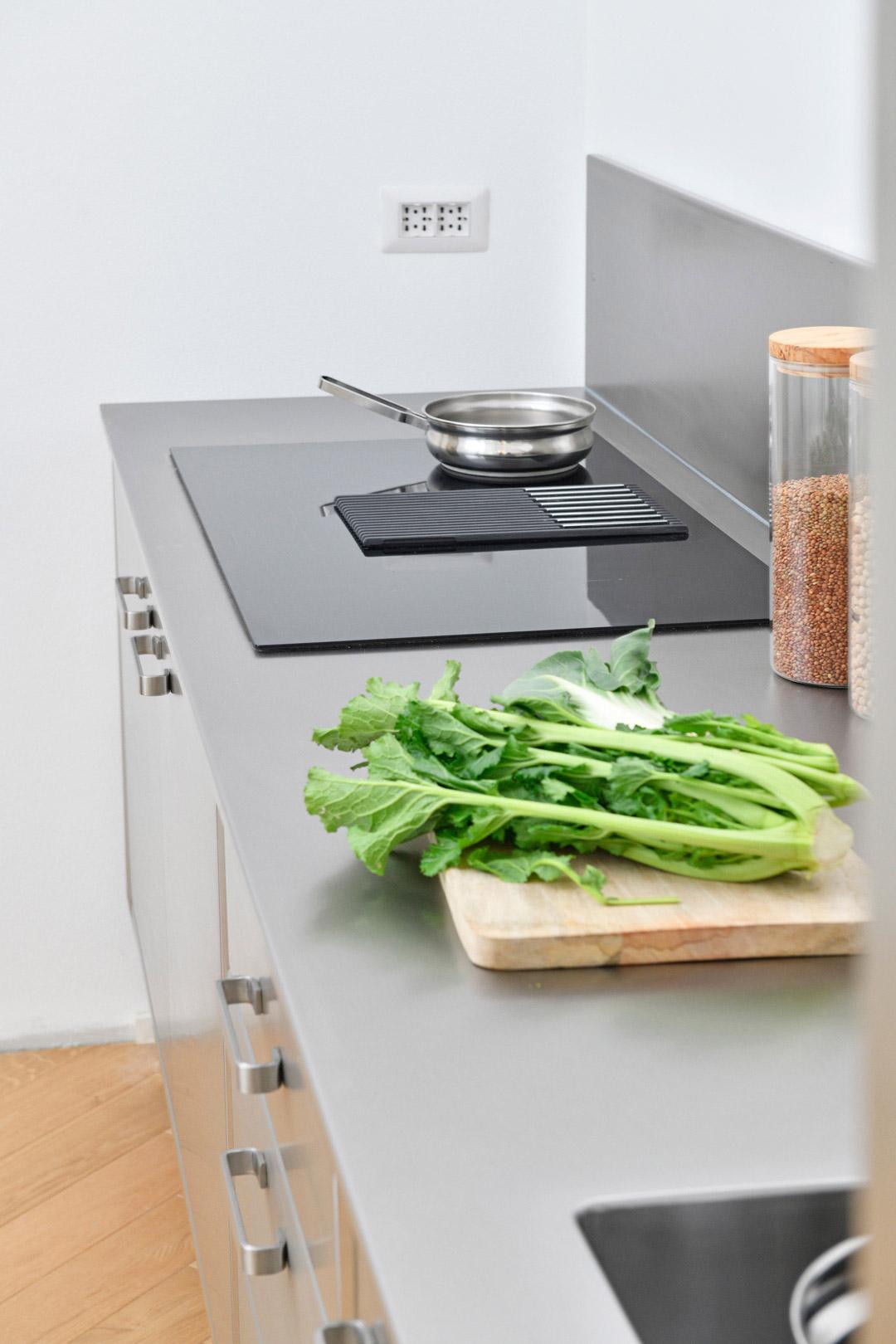 Cucina in Acciaio 03