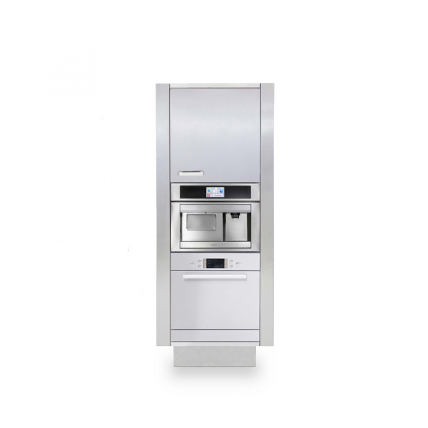 Cucina in acciaio LW B2 1 modulo